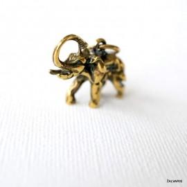 """Bronze pendant """"The elephant"""""""