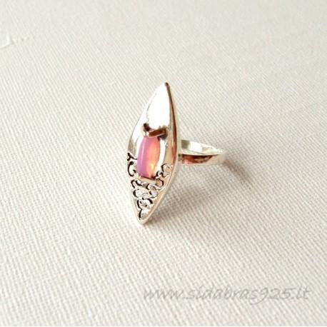Sidabrinis žiedas su Opalu
