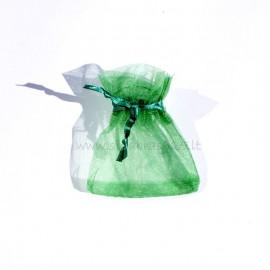 """Dovanų maišiukas """"ORG žalias"""""""