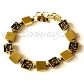 Brass bracelet ŽAP422