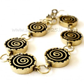 Brass bracelet ŽAP049