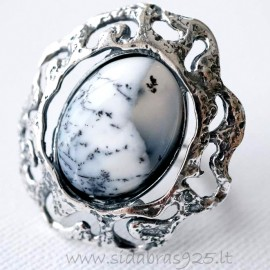 Ring with Agate Ž470-2