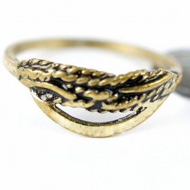 Žalvarinis žiedas ŽŽ026