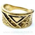 Žalvarinis žiedas ŽŽ079