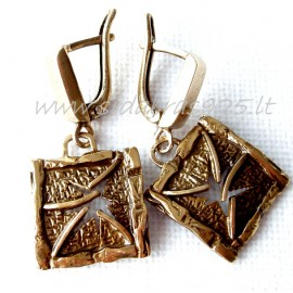 Brass earrings ŽA084