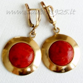 Brass earrings ŽA449