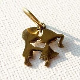 "Brass pendant ""Bučinukas"" ŽP019"