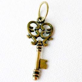 "Brass pendant ""Raktelis"" ŽP521"