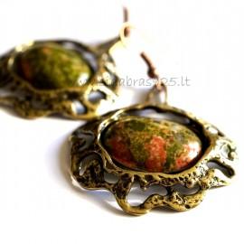 Brass earrings ŽA286