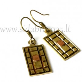 Brass earrings ŽA195