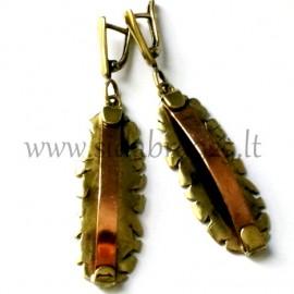 Brass earrings ŽA233