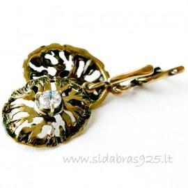 Brass earrings ŽA273