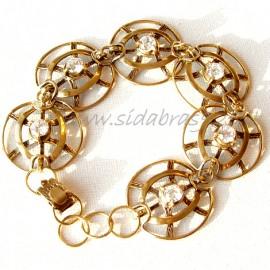 Brass bracelet ŽAP366