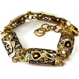 """Brass bracelet """"Kalija"""" ŽAP431"""