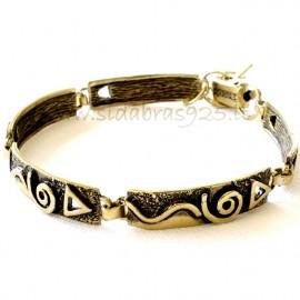 Brass bracelet ŽAP058