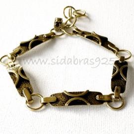 Brass bracelet ŽAP417
