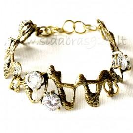 Brass bracelet ŽAP437