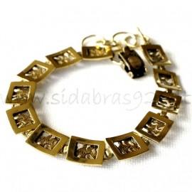 Brass bracelet ŽAP409