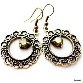 Brass earrings ŽA524