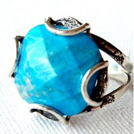 Ring with Turquoise Ž160