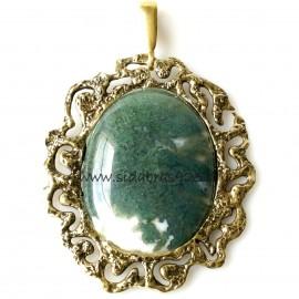 "Brass pendant ""Agatas"""