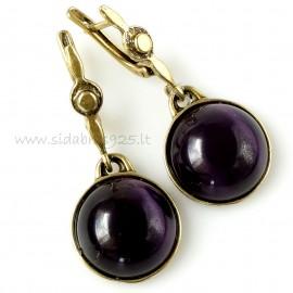 Brass earrings ŽA489