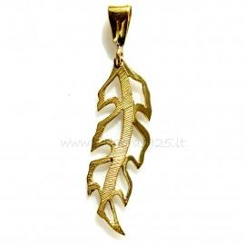 "Brass pendant ""ŽP Lapelis"""
