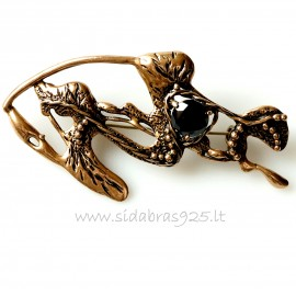 Bronze brooch BS464