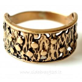 Bronzins žiedas BŽ007