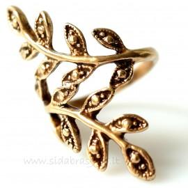 """Bronze ring BŽ""""Šakelė"""""""