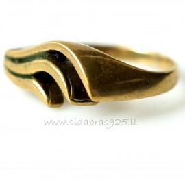 Žalvarinis žiedas ŽŽ130