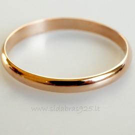 """Žiedas """"Venera"""" 2 mm"""