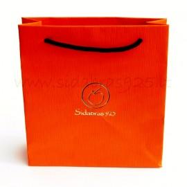 """Dovanų maišiukas """"PO-2 oranžinis"""""""