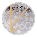 60-летний юбилей медаль