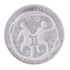 """Medalis Zodiako ženklas """"Dvyniai"""""""
