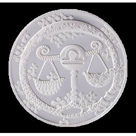 "Medal Zodiac Sign ""Libra"""
