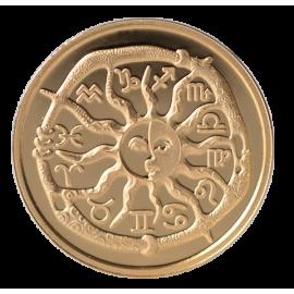 Золотая медаль «Знак Зодиака Рака»