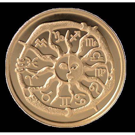 """Aukso Medalis """"Zodiako ženklas Vėžys"""""""