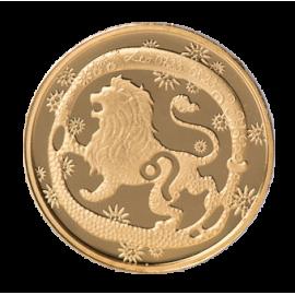Золотая медаль «Знак зодиака Лев»