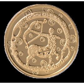 Золотая медаль «Знак зодиака Стрелец»