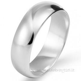 """Žiedas """"Platus 4 mm"""""""