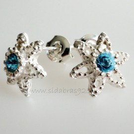 Earrings with Swarovski