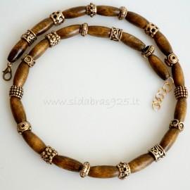 Oжерелья из бронзи с индийским деревом