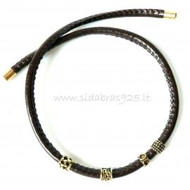 Oжерелье из латуни с магнитом