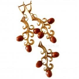 Bronze jewellery set