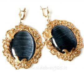 "Bronze earringsi BA ""Dirvolira"""