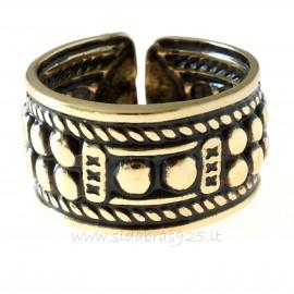 Žalvarinis žiedas ŽŽ128