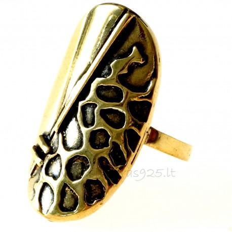 Žalvarinis žiedas ŽŽ035