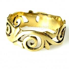 Žalvarinis žiedas ŽŽ758
