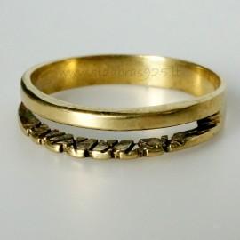 Žalvarinis žiedas ŽŽ025